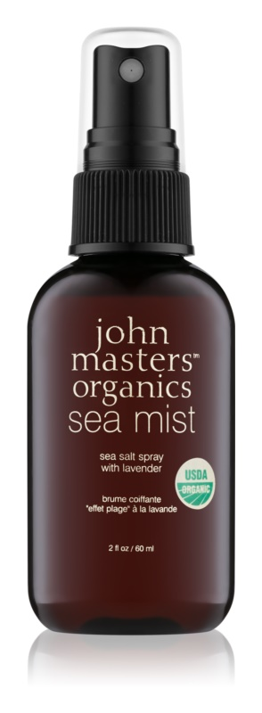 John Masters Organics Sea Mist sal marina con lavanda en spray  para cabello