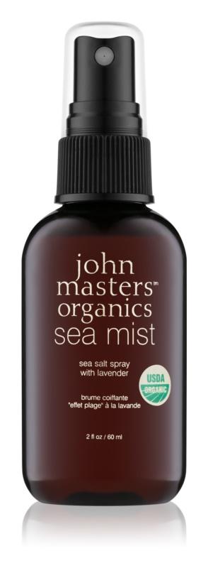 John Masters Organics Sea Mist tengeri só levendulával spray formában hajra