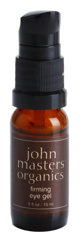 John Masters Organics All Skin Types spevňujúci očný gél