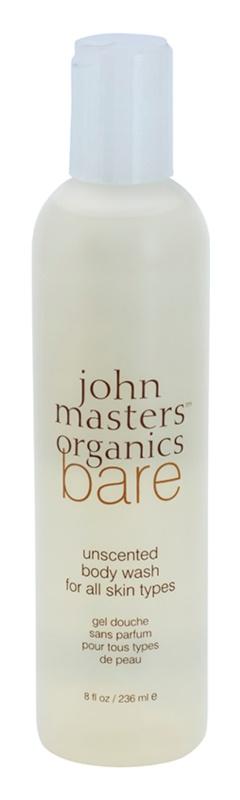 John Masters Organics Bare Unscented Shower Gel Fragrance-Free