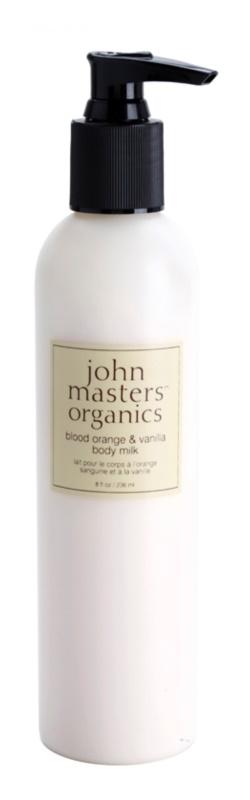 John Masters Organics Blood Orange & Vanilla telové mlieko