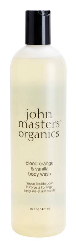 John Masters Organics Blood Orange & Vanilla gel de dus
