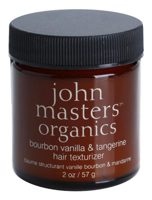 John Masters Organics Bourbon Vanilla & Tangerine gel modelator pentru coafura pentru un aspect perfect al parului