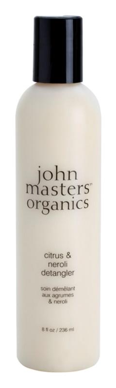 John Masters Organics Citrus & Neroli kondicionér pre normálne až jemné vlasy