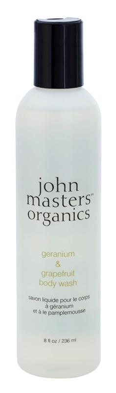 John Masters Organics Geranium & Grapefruit sprchový gél