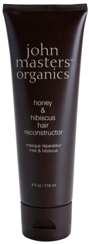 John Masters Organics Honey & Hibiscus obnovujúca maska pre posilnenie vlasov