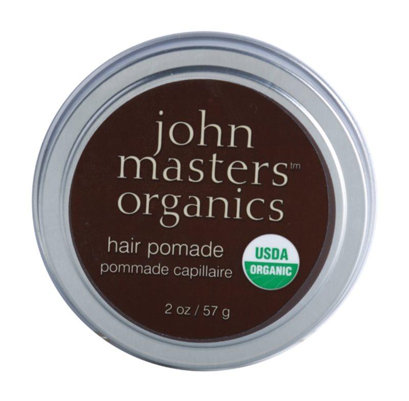 John Masters Organics Hair Pomade pomada para alisamento e nutrição de cabelo seco e rebelde