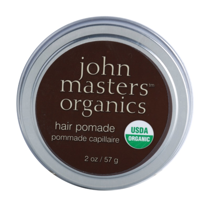 John Masters Organics Hair Pomade pomádé a száraz és kezelhetetlen haj egyenesítésére és táplálására