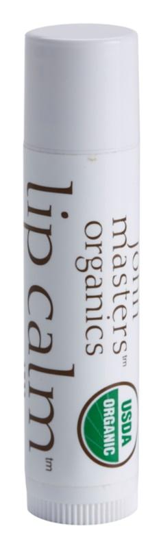 John Masters Organics Lip Calm baume à lèvres