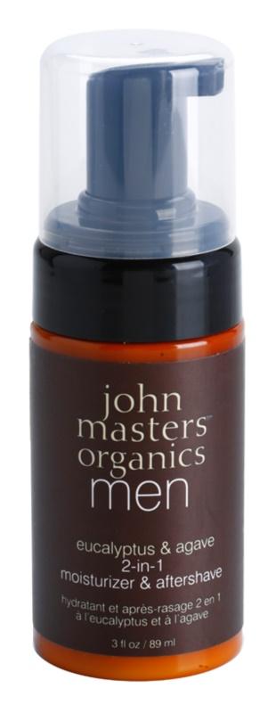 John Masters Organics Men hydratační balzám po holení 2 v 1