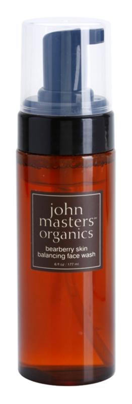 John Masters Organics Oily to Combination Skin čistiaca pena vyrovnávajúca tvorbu kožného mazu