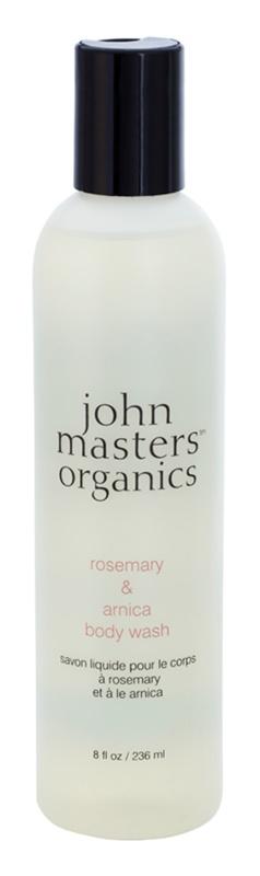 John Masters Organics Rosemary & Arnica sprchový gél s povzbudzujúcim účinkom