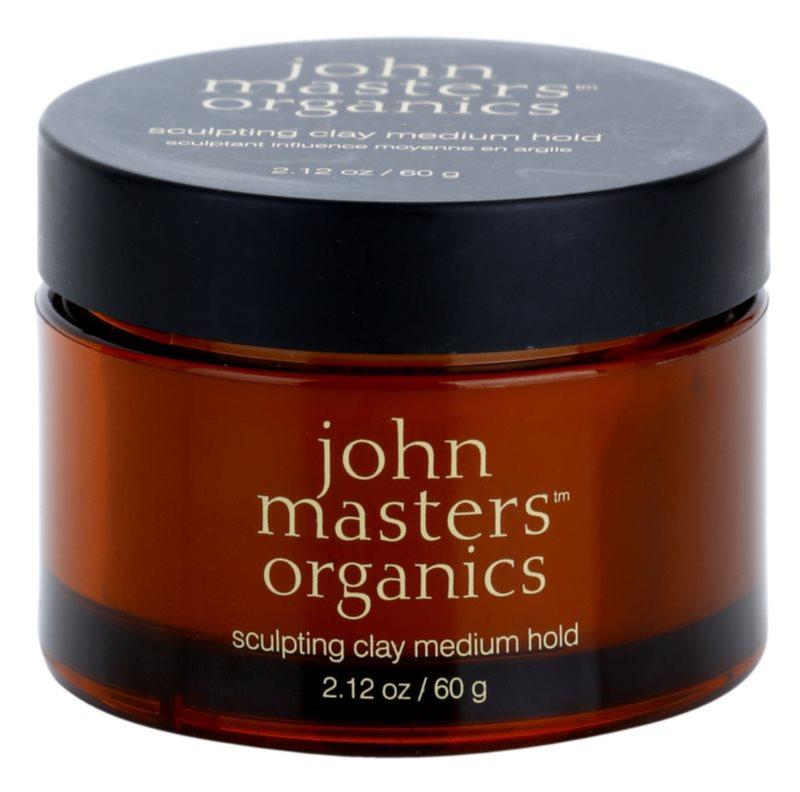 John Masters Organics Sculpting Clay Modelerende Klei  Medium Fixatie