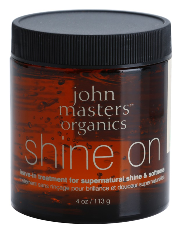 John Masters Organics Shine On gel de par pentru par neted si stralucitor