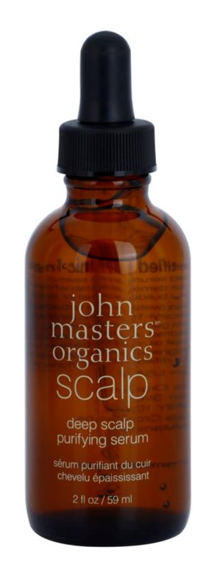 John Masters Organics Scalp sérum de limpeza profunda para o couro cabeludo