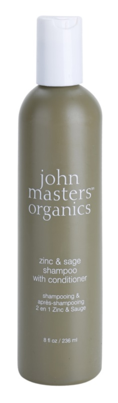 John Masters Organics Zinc & Sage Shampoo And Conditioner 2 In 1 For Irritated Scalp