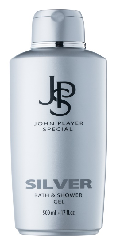 John Player Special Silver gel douche pour homme 500 ml