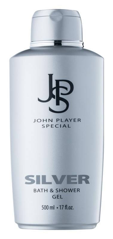 John Player Special Silver sprchový gél pre mužov 500 ml