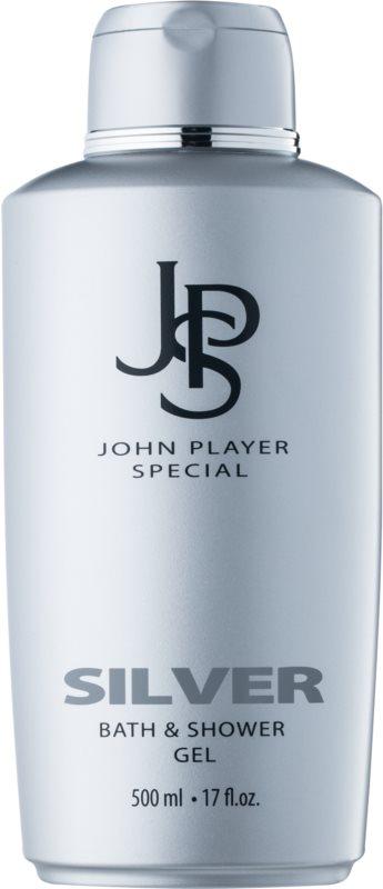 John Player Special Silver żel pod prysznic dla mężczyzn 500 ml