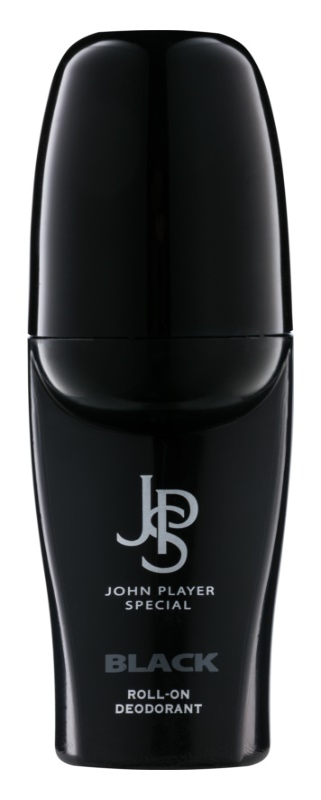 John Player Special Black dezodorant w kulce dla mężczyzn 50 ml