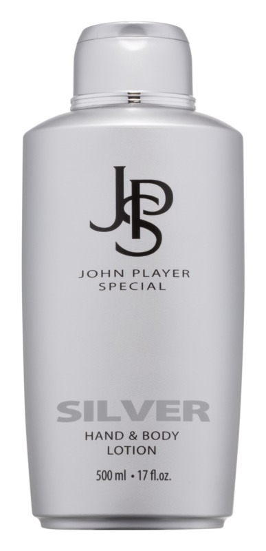 John Player Special Silver leite corporal para homens 500 ml