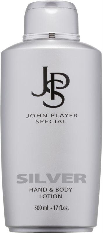 John Player Special Silver mleczko do ciała dla mężczyzn 500 ml