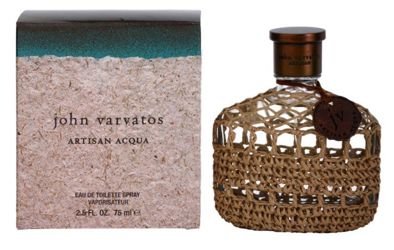 John Varvatos Artisan Acqua toaletní voda pro muže 75 ml