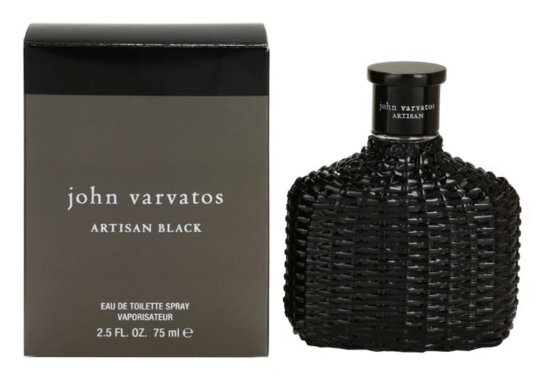 John Varvatos Artisan Black woda toaletowa dla mężczyzn 75 ml