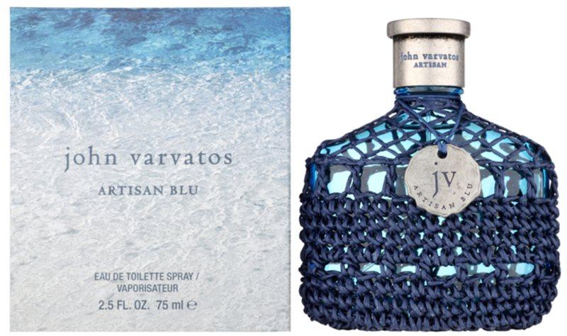 John Varvatos Artisan Blu eau de toilette per uomo 75 ml