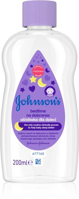 Johnson's Baby Bedtime Oil for Healthy Sleep
