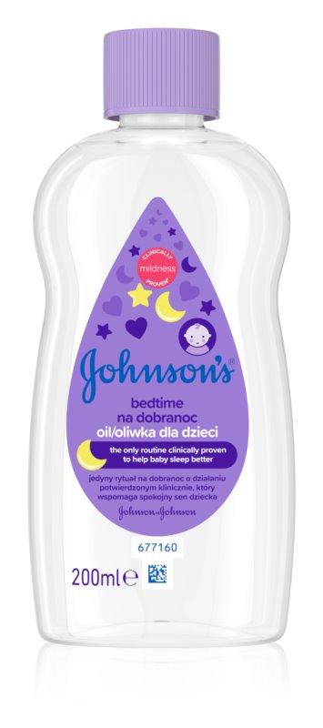 Johnson's Baby Bedtime olej pre dobrý spánok