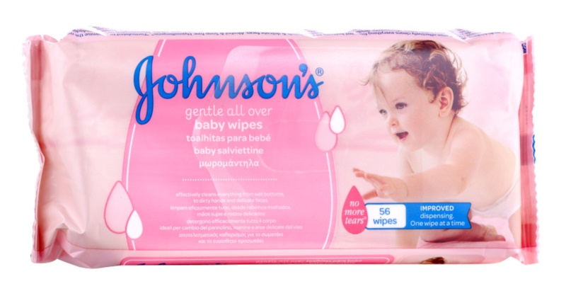 Johnson's Baby Diapering nawilżane chusteczki