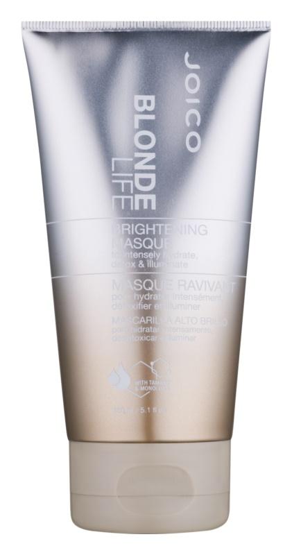 Joico Blonde Life aufhellende Hautmaske für intensive Hydratisierung