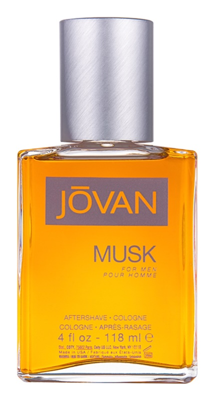 Jovan Musk loción after shave para hombre 118 ml