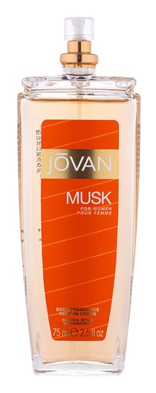 Jovan Musk pršilo za telo za ženske 75 ml