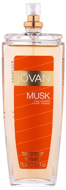 Jovan Musk spray pentru corp pentru femei 75 ml