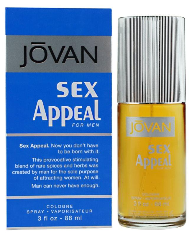Jovan Sex Appeal Eau de Cologne Für Herren 88 ml