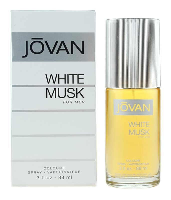 Jovan White Musk kolonjska voda za moške 88 ml