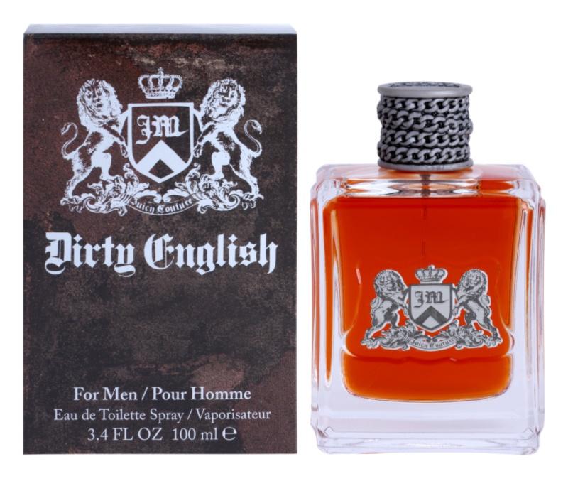 Juicy Couture Dirty English Eau de Toilette voor Mannen 100 ml