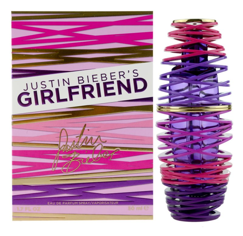 Justin Bieber Girlfriend Eau de Parfum für Damen 50 ml