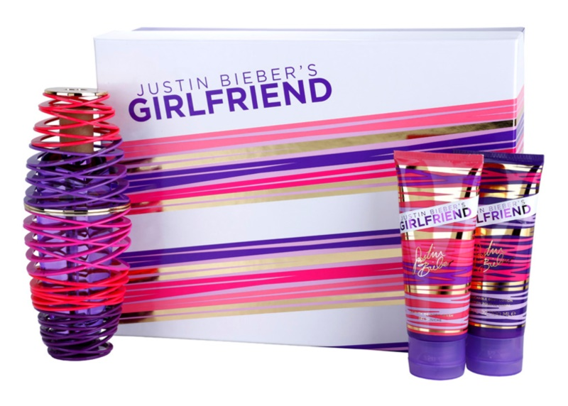 Justin Bieber Girlfriend coffret cadeau I.