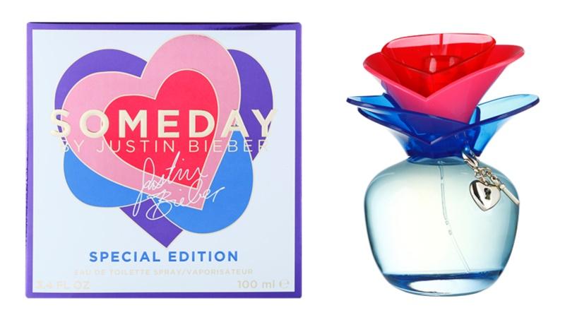 Justin Bieber Someday Summer Edition Eau de Toilette Damen 100 ml