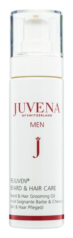 Juvena Rejuven® Men odżywczy olejek do włosów i brody