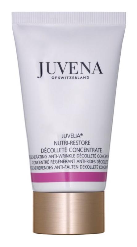 Juvena Juvelia® Nutri-Restore regeneracijski koncentrat proti gubam za vrat in dekolte