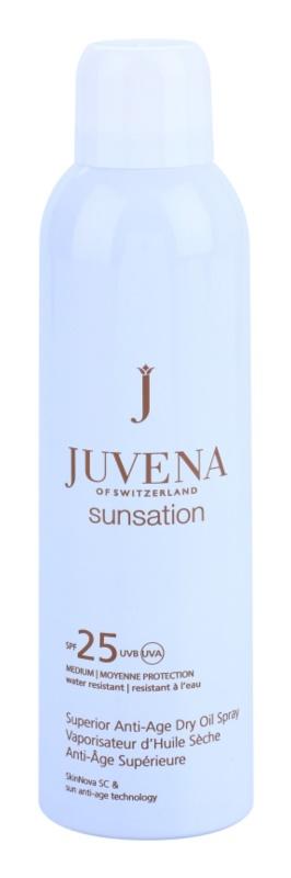 Juvena Sunsation óleo seco solar em spray SPF 25