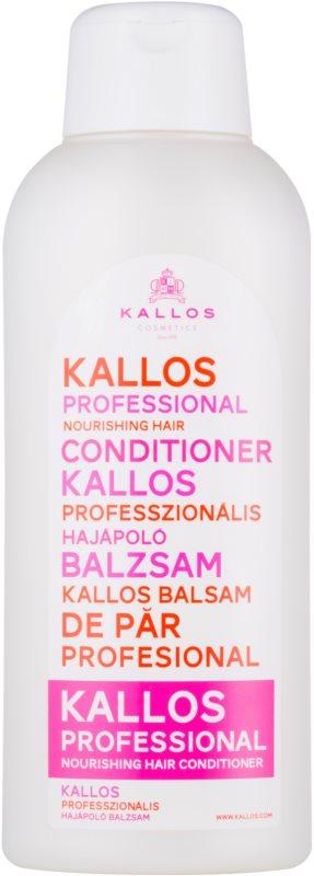 Kallos Nourishing balzam za suhe in poškodovane lase