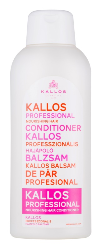 Kallos Nourishing Conditioner  voor Droog en Beschadigd Haar