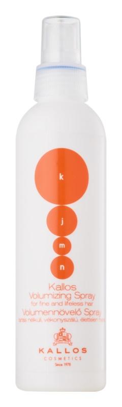 Kallos KJMN spray volumizzante capelli delicati