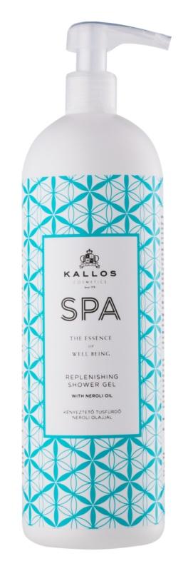 Kallos Spa żel pod prysznic  o dzłałaniu nawilżającym