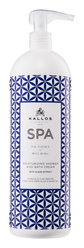 Kallos Spa Gel - cremă pentru duș și baie cu efect de hidratare